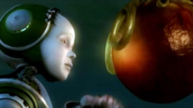 Gorgeous Short Film About a Bio-Robot With Endless Desire - For Water