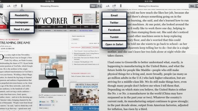 Longform App Collects the Internet's Best Writing on Your iPad