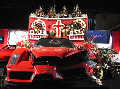 Jalopnik Morning Mourning: Pics of the Dead Redline Enzo