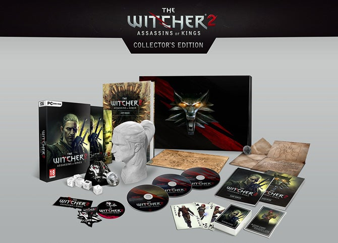 The Witcher 2 Collector's Edition Comes To A Head