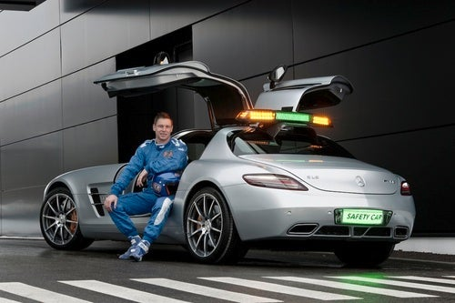 Mercedes SLS AMG F1 Safety Car: Press Photos