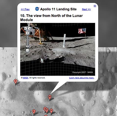 Google Moon's Virtual Moonwalk
