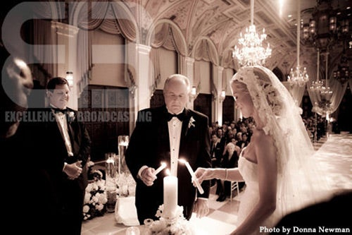 Rush Limbaugh Wedding Photos
