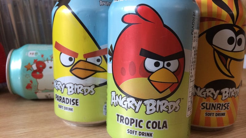 Tropic Cola? That Makes Me Angry... Angry Birds Angry!