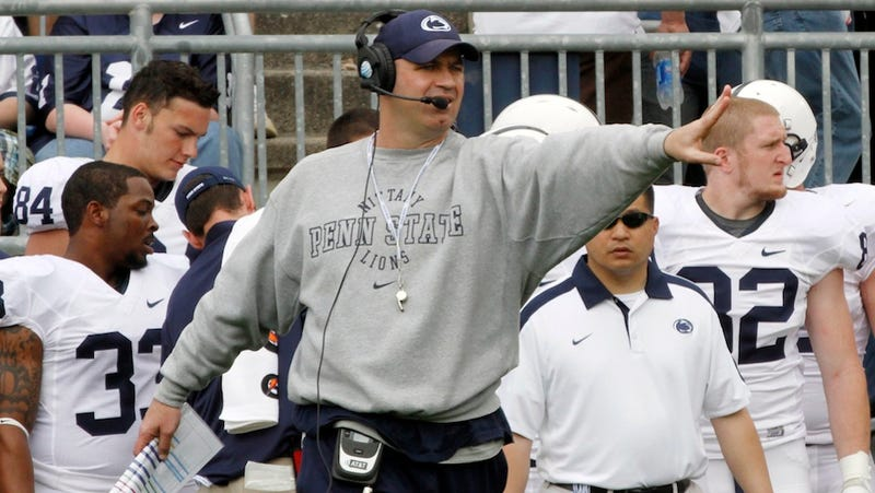 Opposing Coaches Hung Out Today In A Penn State Parking Lot, Hoping To Poach Players