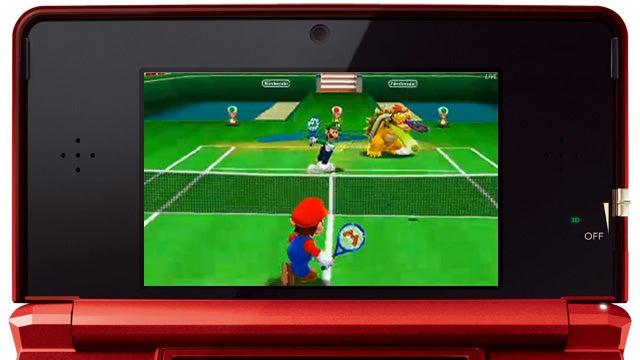 Nintendo Has Mario Tennis, Paper Mario and Animal Crossing for Nintendo 3DS in 2012