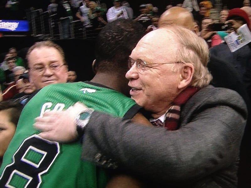 Jeff Green Hugged His Heart Surgeon After Making Game-Winning Layup