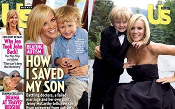 Jenny McCarthy: 'A Diet Of Cleavage And Veggies Cured My Son Of Autism!'