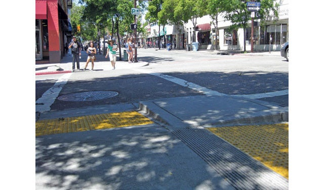 How A California City's Sidewalks Were Redesigned for Wheelchairs