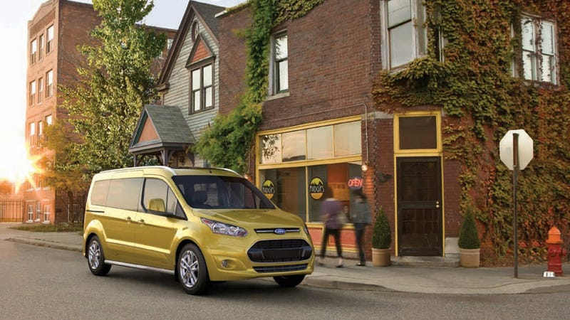 The Ford Transit Connect Wagon Can Swallow Your Entire Family