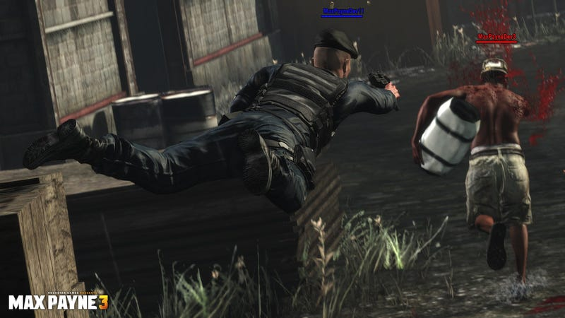 Things Get a Lot Darker in These New Max Payne 3 Screens