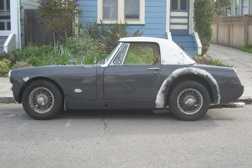 1967 Austin-Healey Sprite Down On The Alameda Street