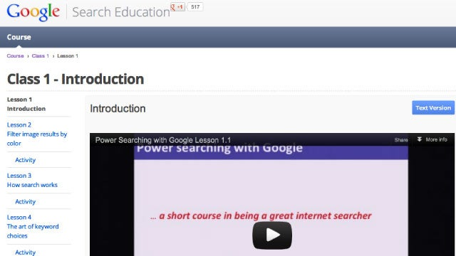 Boost Your Google Searching Skills with Google's Free Power Searching Course