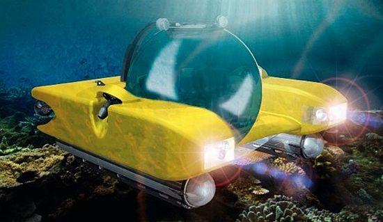 Gem Triton 1000 Submarine Is Worst Thing Ever (Lacks Periscope)