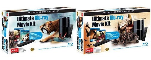 """The PS3 """"Ultimate Blu-Ray Movie Kit"""""""