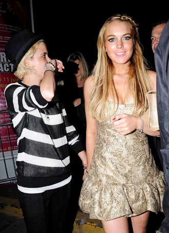 Maybe-Lesbian Lindsay Lohan's Home State To Recognize Gay Marriage