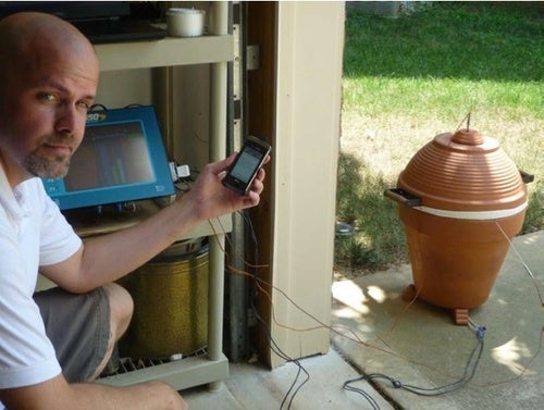 DIY Meat Smoker Texts You When Your Meat's Ready