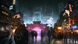 This single piece of concept art is all the info we have so far on Harebrained Schemes' next Shadowrun Returns campaign, which is hitting Kickstarter next month. Dragonfall was a huge improvement over the original game/campaign, so it should be interesting to see what they'll come up with next.