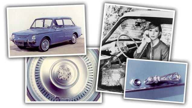 The Wonderfully Bizarre His And Her Cars Of The 1960s