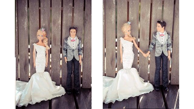 See Barbie And Ken's Dream Wedding Album