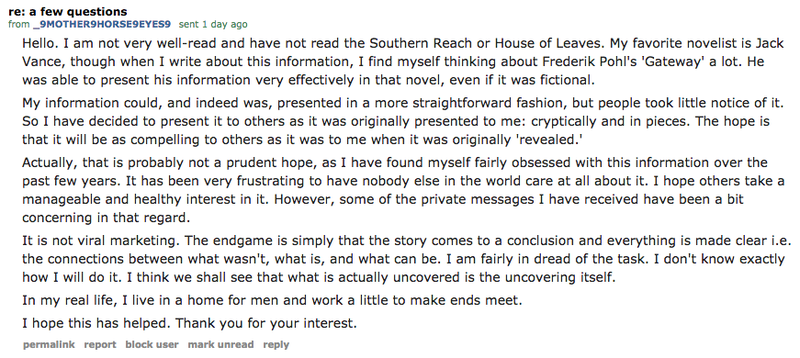 The Sci-Fi Novel Secretly Unfolding in Reddit's Comments