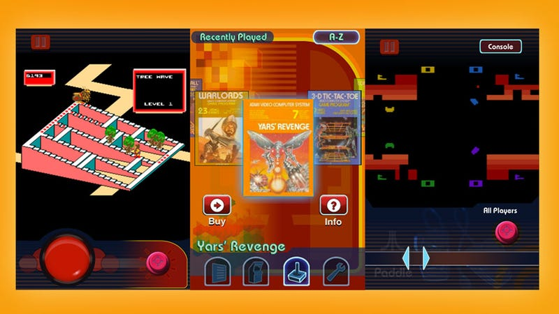 Atari's Greatest Hits Shoves the Loot of a Thousand Garage Sales Onto Your iPhone