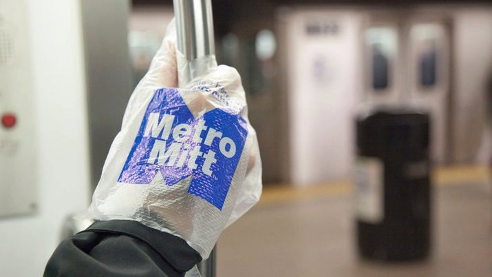 The Disposable Subway Riding Glove Is Completely Idiotic