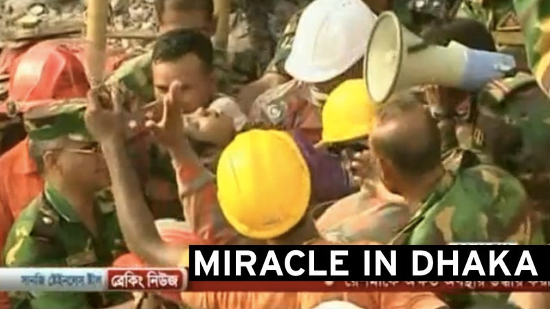 Survivor Pulled from Bangladesh Factory Rubble After 17 Days Trapped