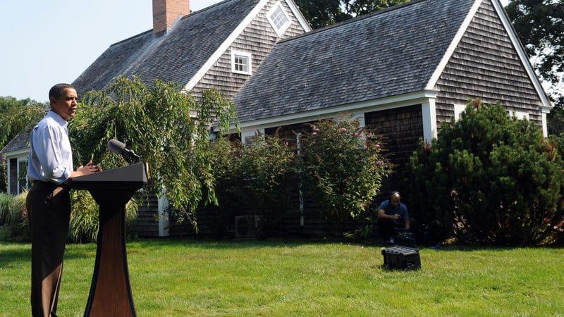 Fire at Obama's Martha's Vineyard Retreat