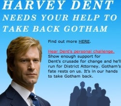 Harvey Dent Wants Your Vote, Half Your Suit