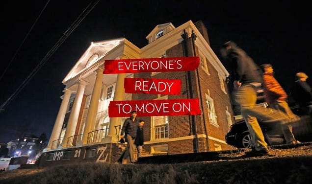 Rush After 'A Rape On Campus': A UVA Alum Goes Back to Rugby Road