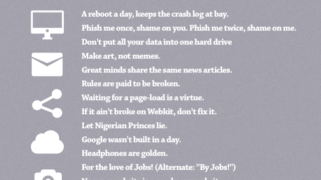 More Popular Idioms Translated to Make Sense with Today's Technology