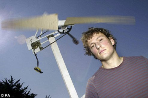 Student Develops Cheap Power Turbine For Developing Nations