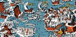 Quiz - can you tell the book by its map?