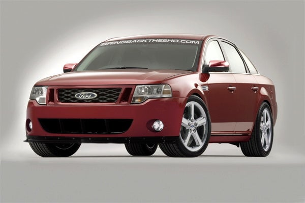 "SHO Me The Bold Moves! Enthusiasts Create Web Site Asking Ford To ""Bring Back The SHO"" Taurus"