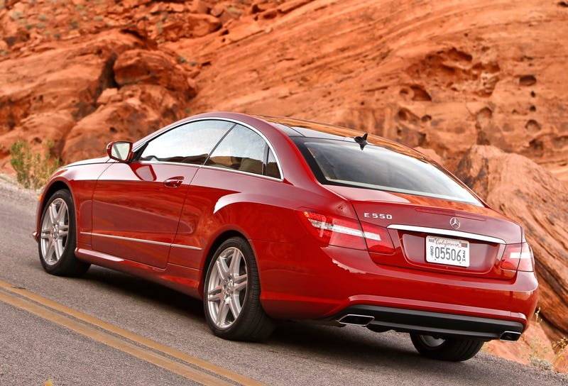 2010 Mercedes E-Class Coupe: First Drive