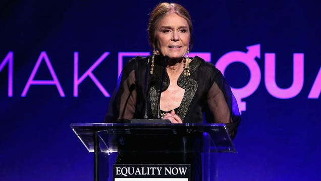 Gloria Steinem Says Black Men Invented the Masculist Movement