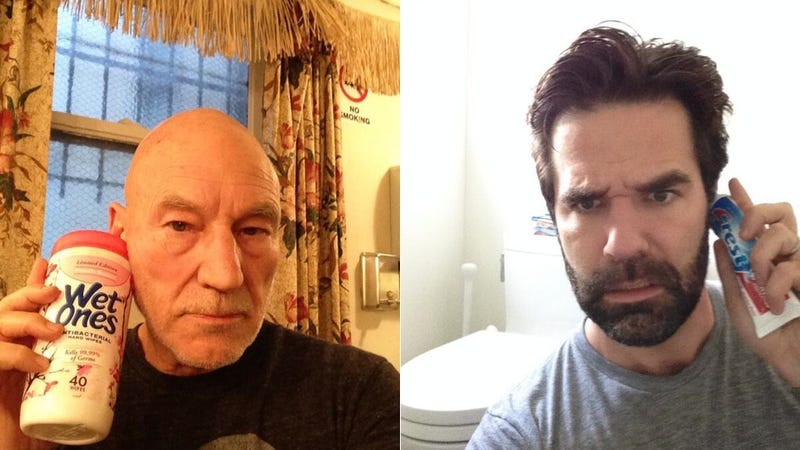 Rob Delaney and Patrick Stewart Join an Important Conference Call
