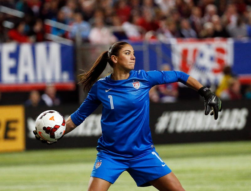 Soccer Star Hope Solo Arrested On Domestic Violence Charge