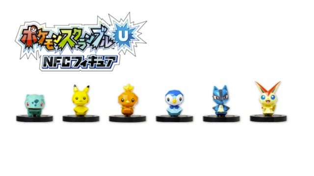 Those Scannable Pokémon Wii U Figures Finally Revealed!
