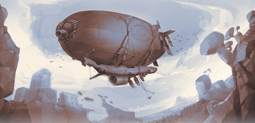 The airship was a jalopy