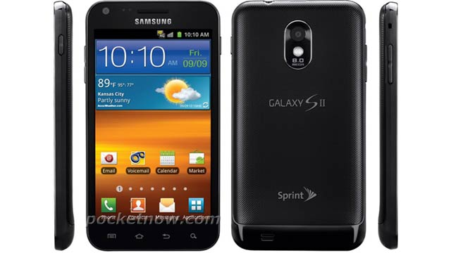 Samsung Galaxy S II on Sprint Delayed Because of the Hurricane