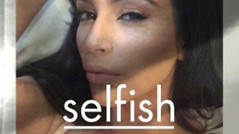 Kim Kardashian Is Publishing a Photo Book of Her Selfies
