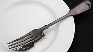 "This Hybrid ""Knork"" Utensil Was Also An Important Medical Invention"