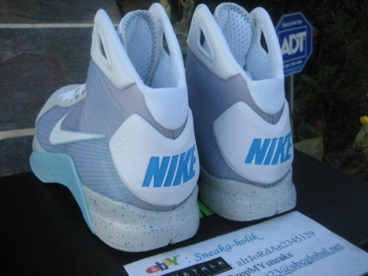 Back to the Future McFly Sneakers Unboxed, Going for $2,000