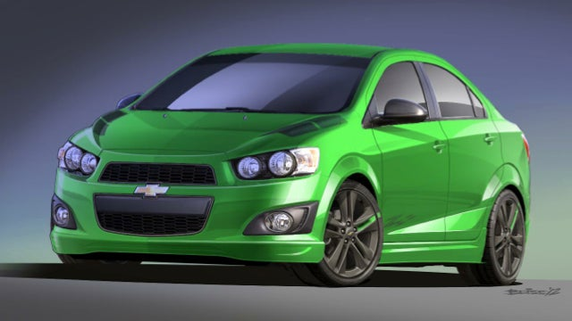 Chevrolet Will Use Bright Colors And Silly Names To Woo A Young Audience At SEMA