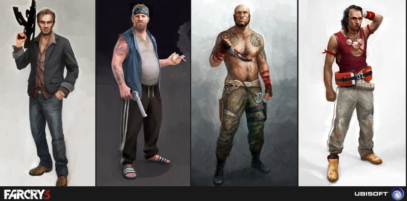 Everyone In Far Cry 3 Looks Absolutely Crazy. Everyone.