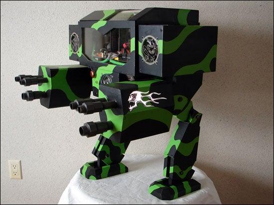 Crazy PC Case Modded to Look Like Atlas Mech