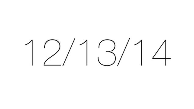 Todays date
