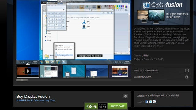Grab Multi-Monitor Utility DisplayFusion for Just $9 (69% Off)